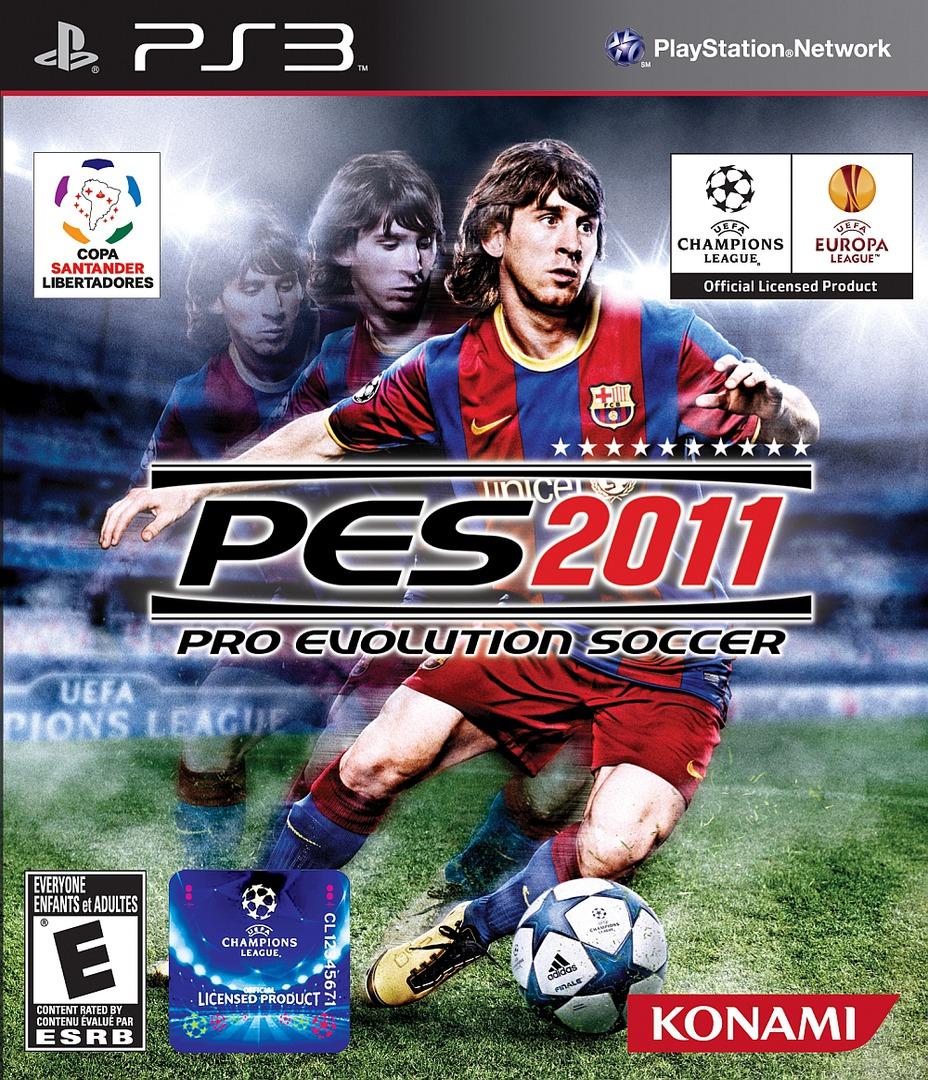 Pro Evolution Soccer 2011 PS3 coverHQ2 (BLUS30610)