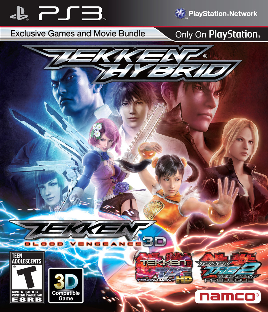 Tekken Hybrid (Limited Edition) PS3 coverHQ2 (BLUS30892)