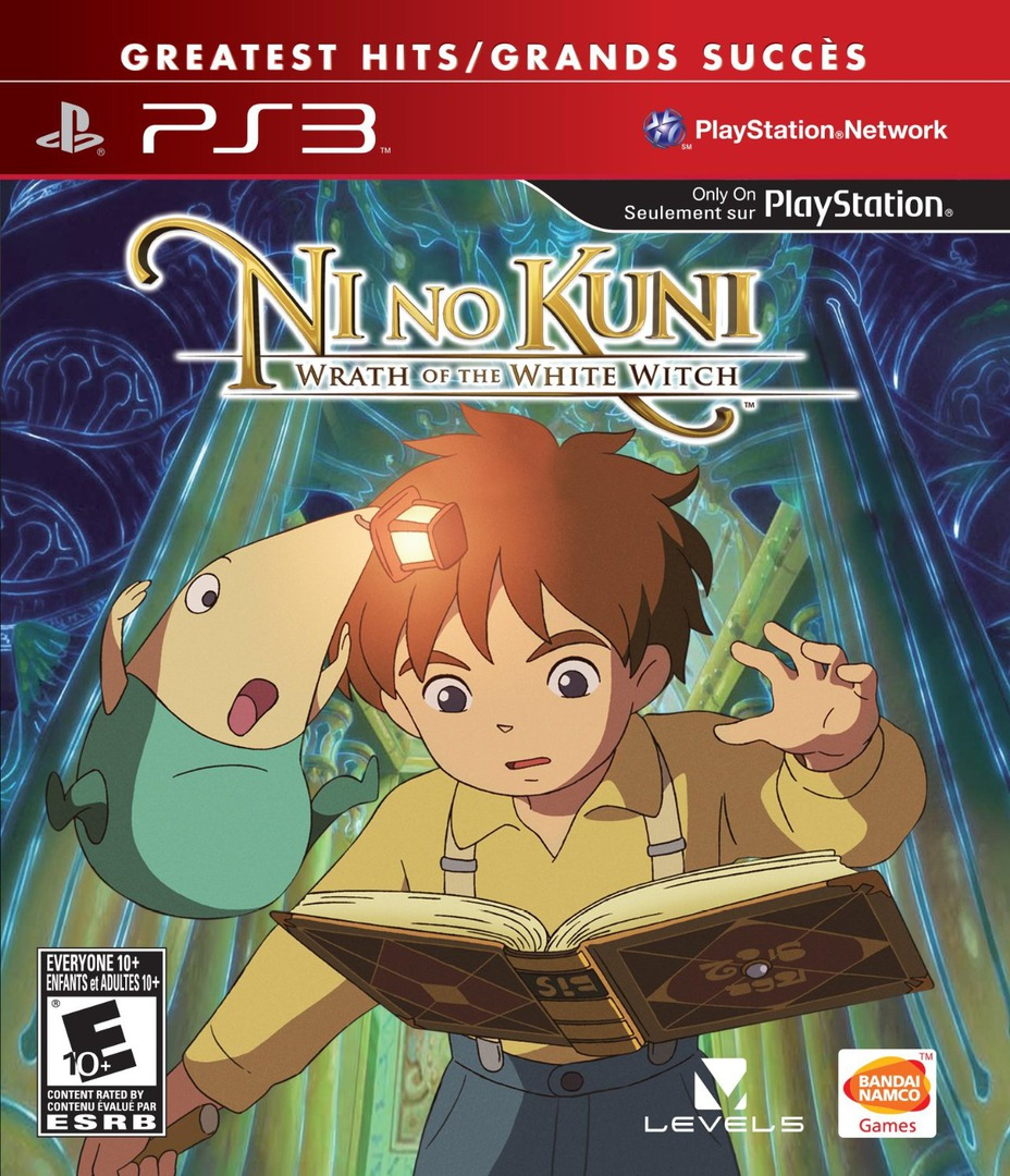 Ni No Kuni: Wrath of the White Witch PS3 coverHQ2 (BLUS30947)