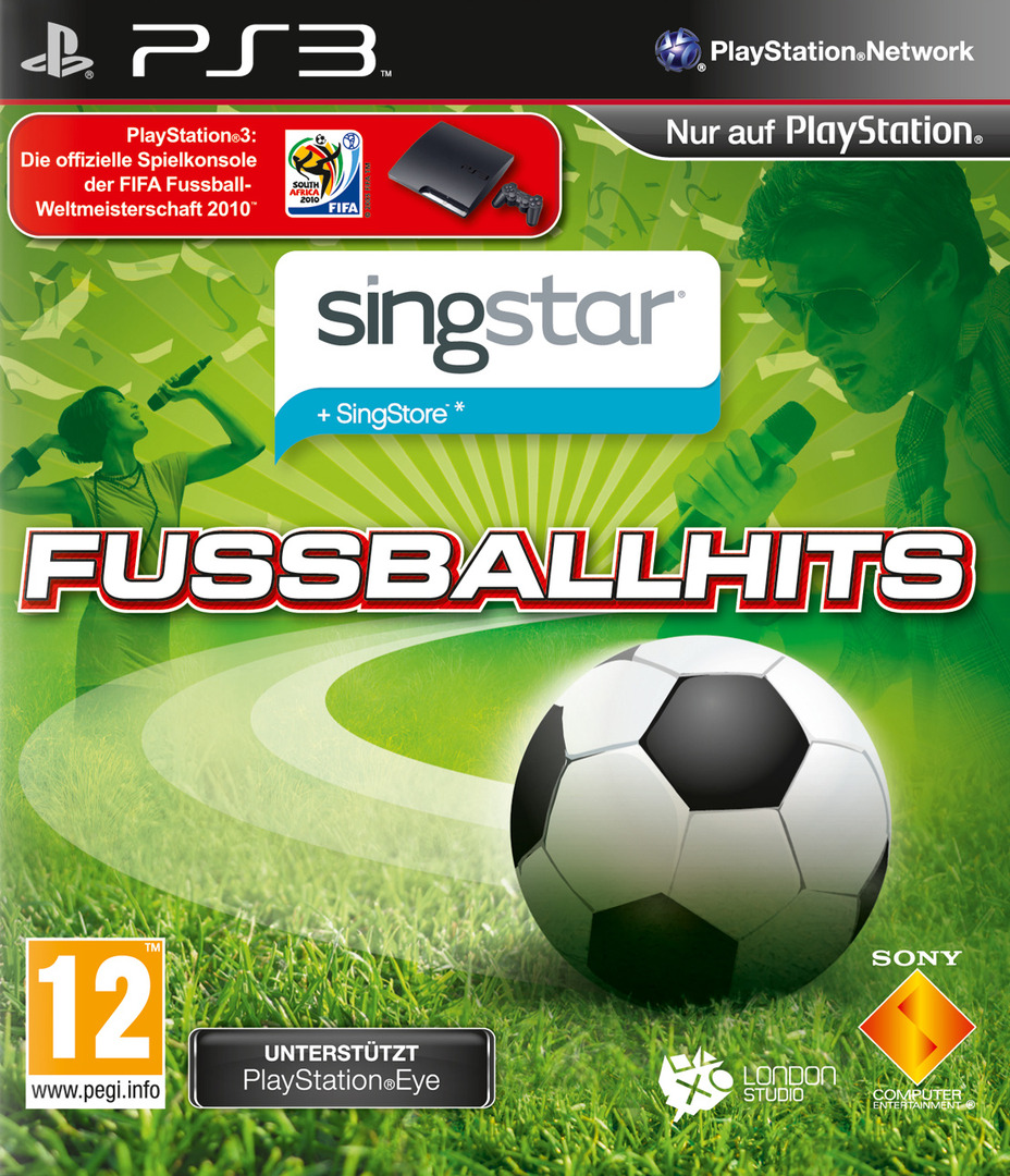 SingStar: Fussball Hits PS3 coverHQB (BCES00869)