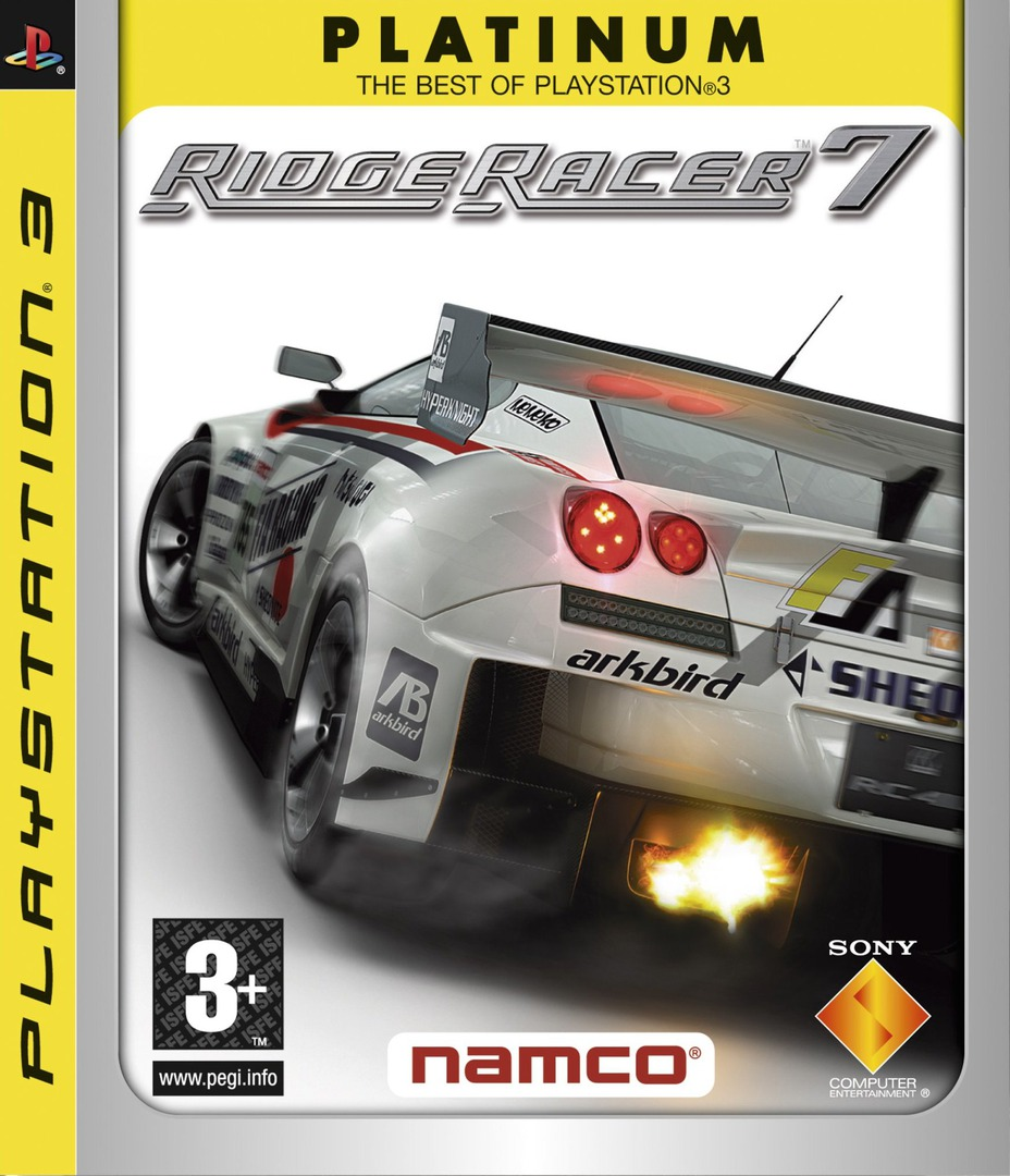 Ridge Racer 7 Array coverHQB (BCES00009)