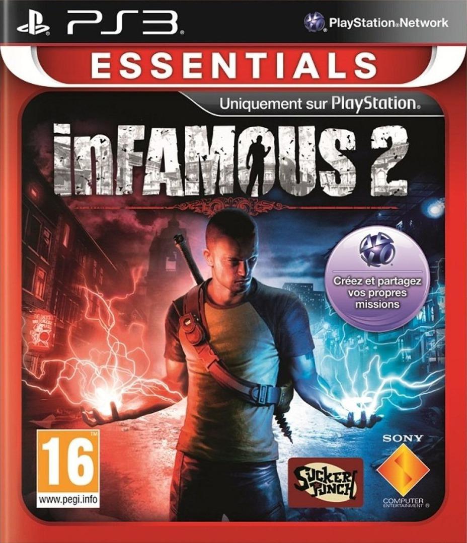 inFamous 2 PS3 coverHQB (BCES01143)
