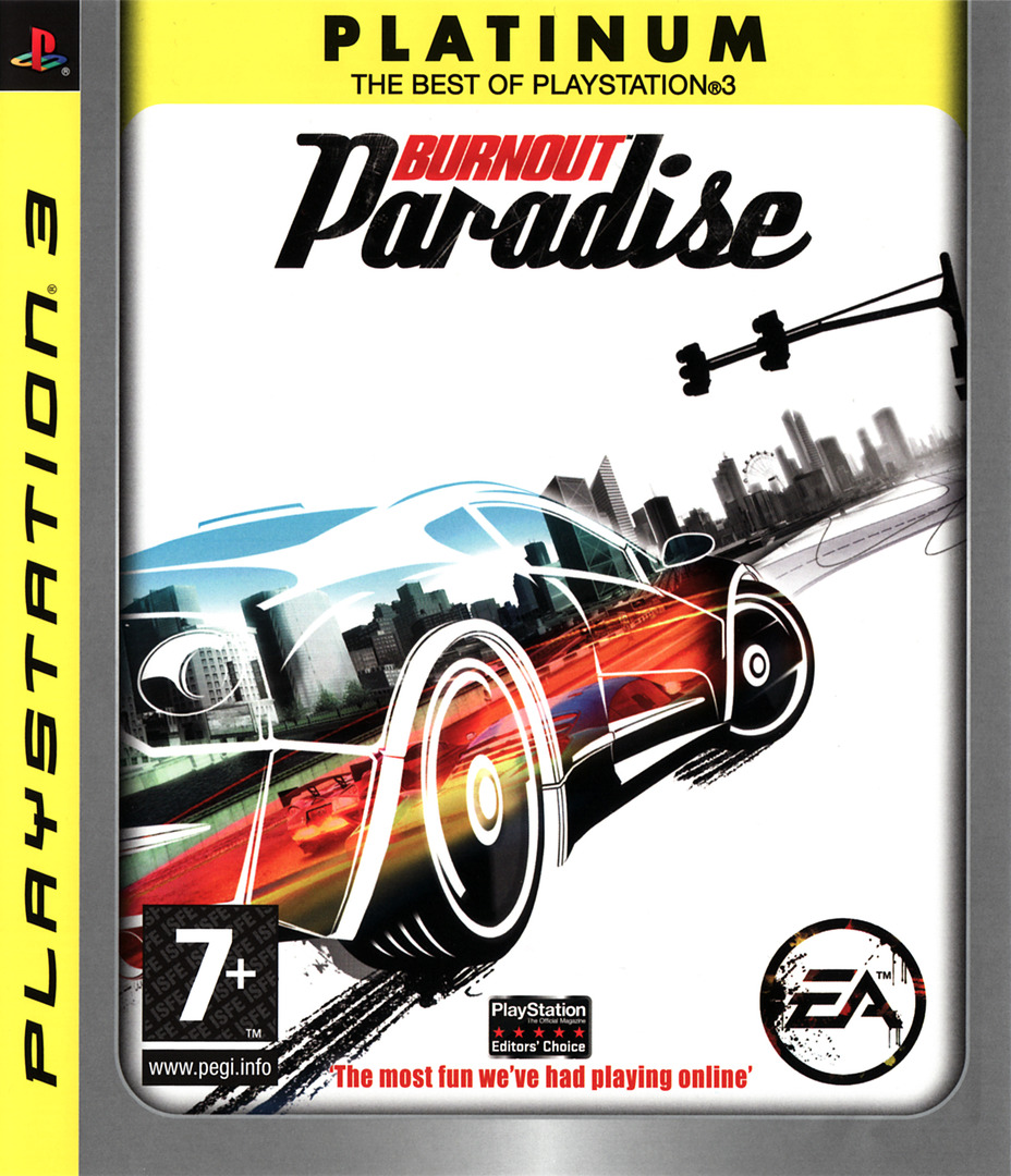 Burnout Paradise PS3 coverHQB (BLES00073)