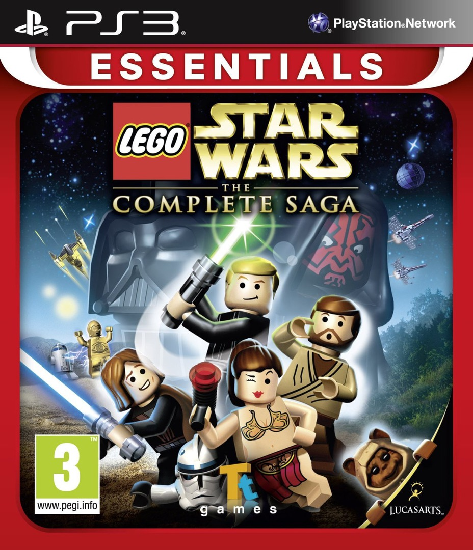 LEGO Star Wars: The Complete Saga PS3 coverHQB (BLES00121)