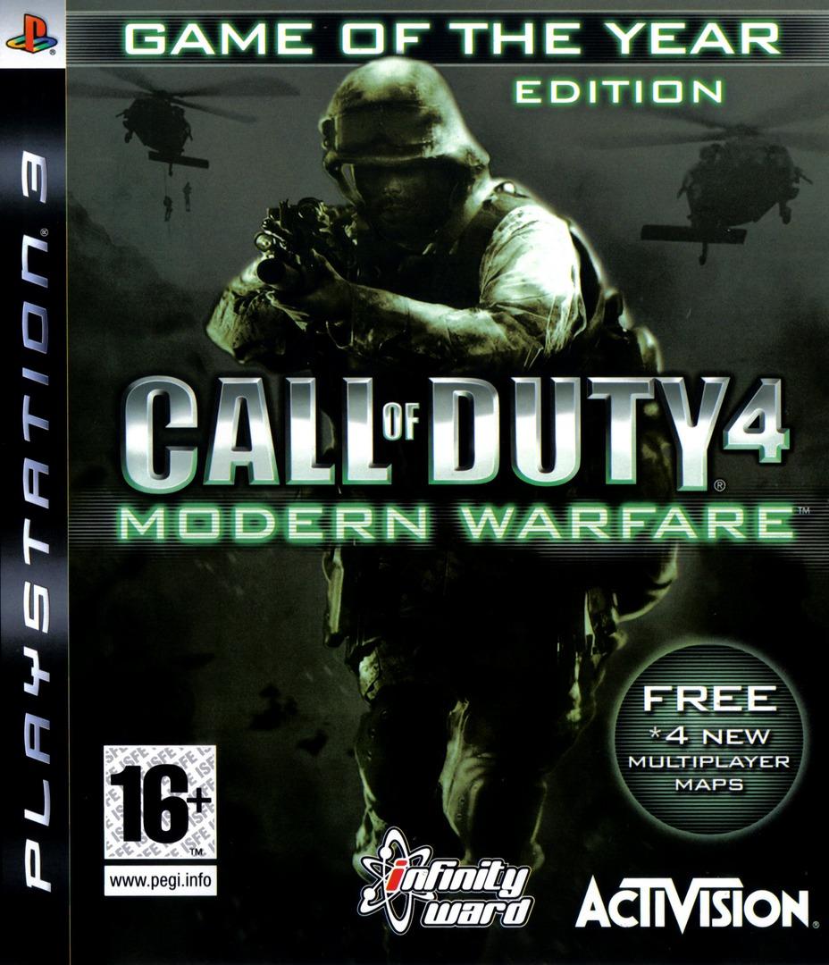 Call of Duty 4: Modern Warfare PS3 coverHQB (BLES00148)