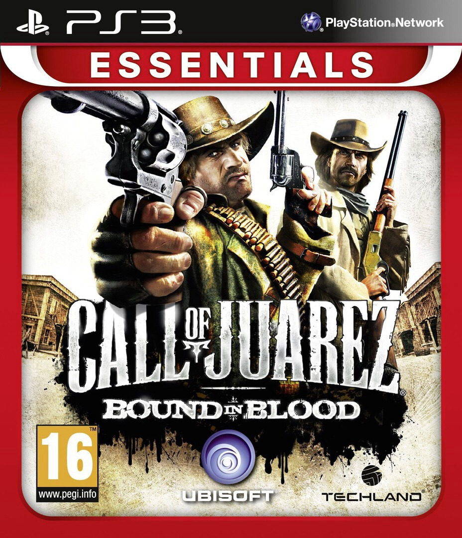 Call of Juarez: Bound in Blood PS3 coverHQB (BLES00556)