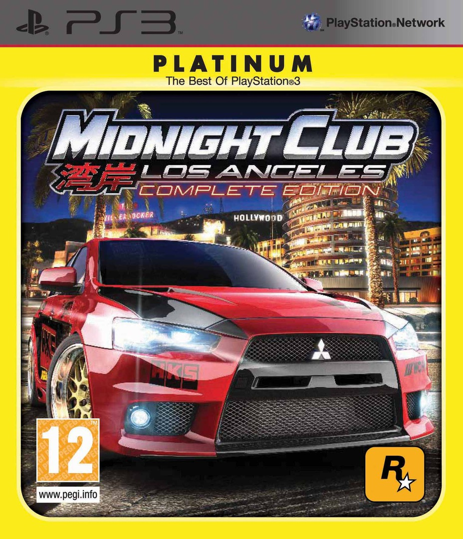 Midnight Club: Los Angeles - Complete Edition PS3 coverHQB (BLES00652)