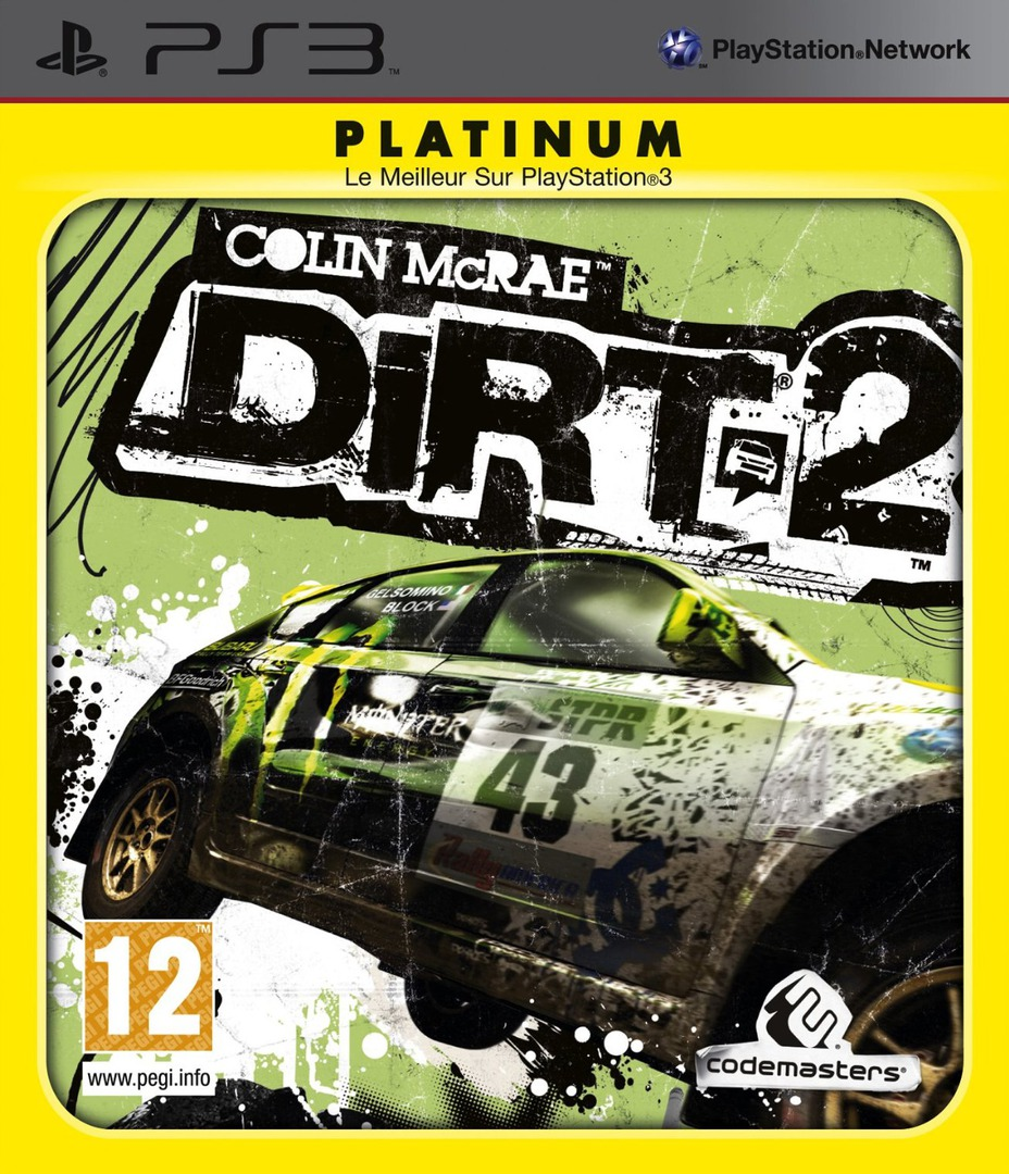 Colin McRae: DiRT 2 PS3 coverHQB (BLES00673)