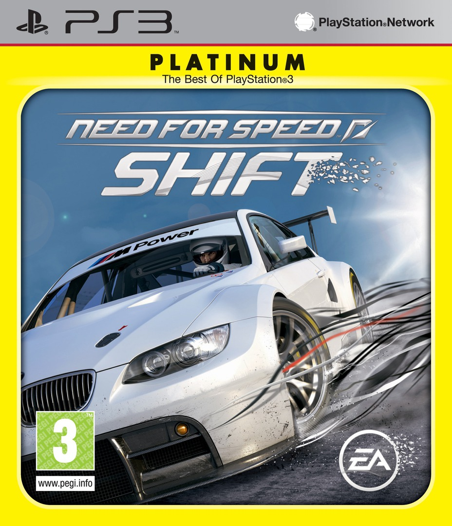 Need for Speed Shift PS3 coverHQB (BLES00682)