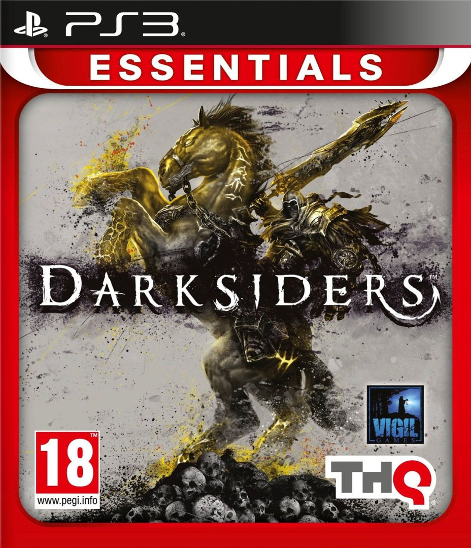 Darksiders PS3 coverHQB (BLES00705)
