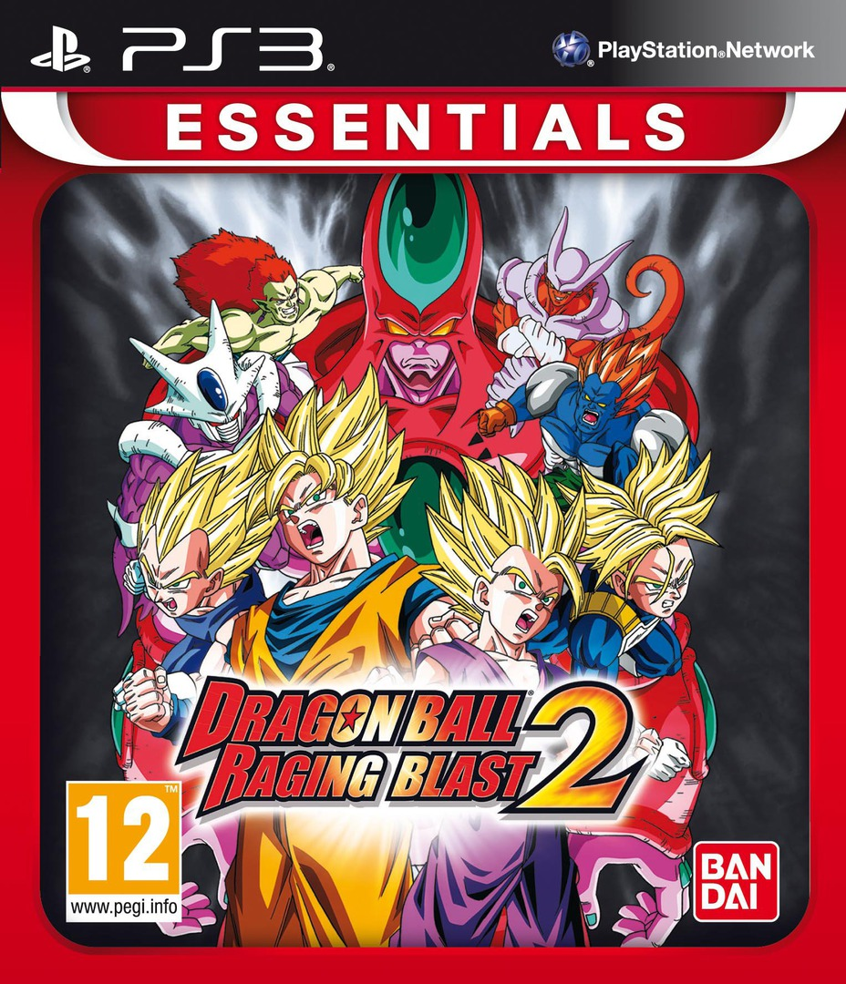 Dragon Ball: Raging Blast 2 PS3 coverHQB (BLES00978)