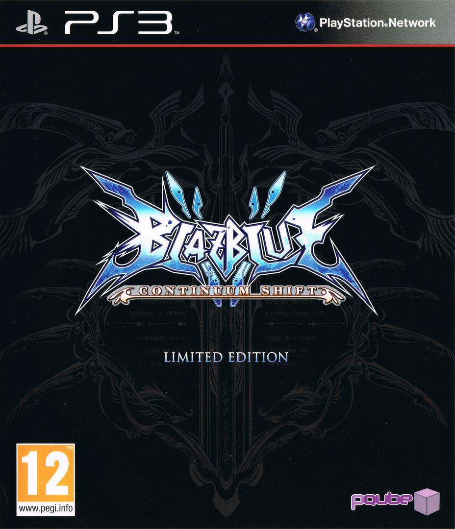 BlazBlue:Continuum Shift PS3 coverHQB (BLES01119)