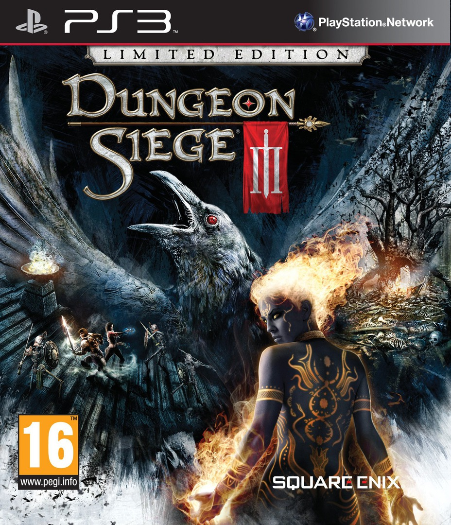 Dungeon Siege III PS3 coverHQB (BLES01161)