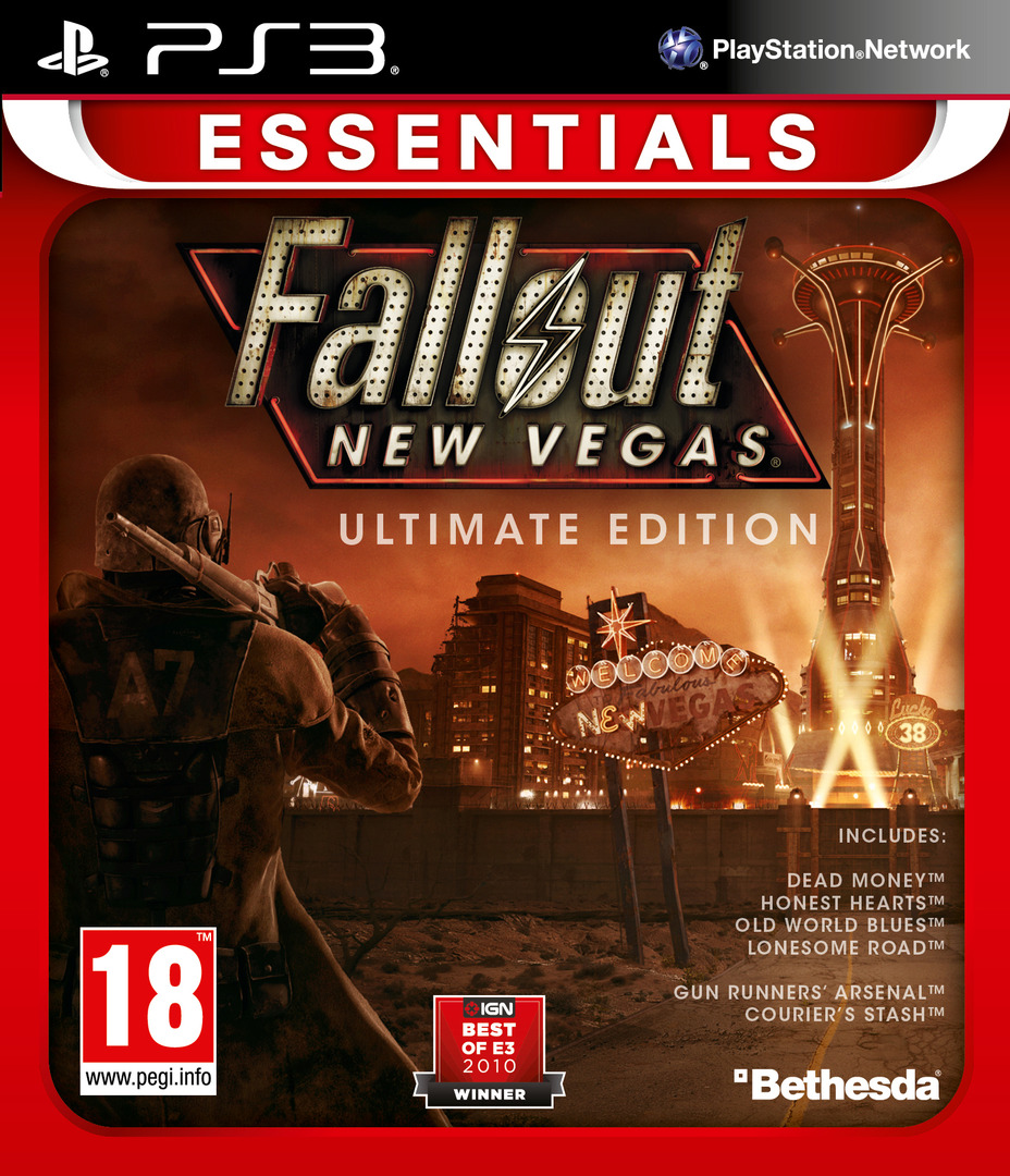 Fallout New Vegas:Ultimate Edition PS3 coverHQB (BLES01475)