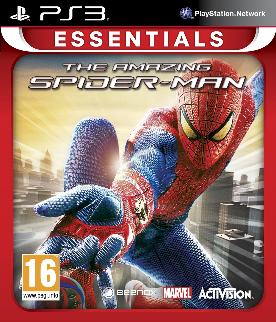The Amazing Spider-Man PS3 coverHQB (BLES01547)
