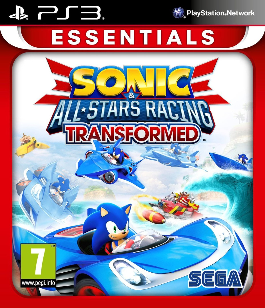 Sonic & All-Stars Racing Transformed PS3 coverHQB (BLES01646)