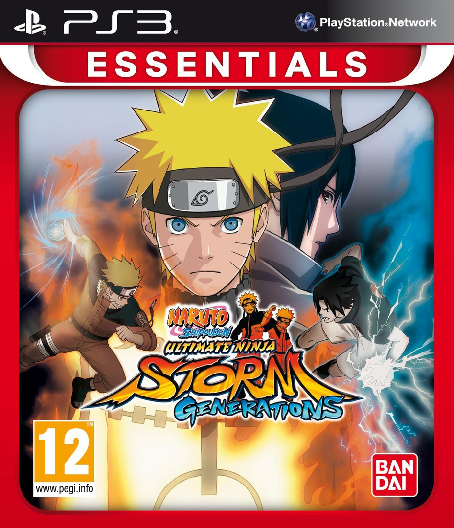 Naruto Shippuden: Ultimate Ninja Storm 3 Array coverHQB (BLES01764)