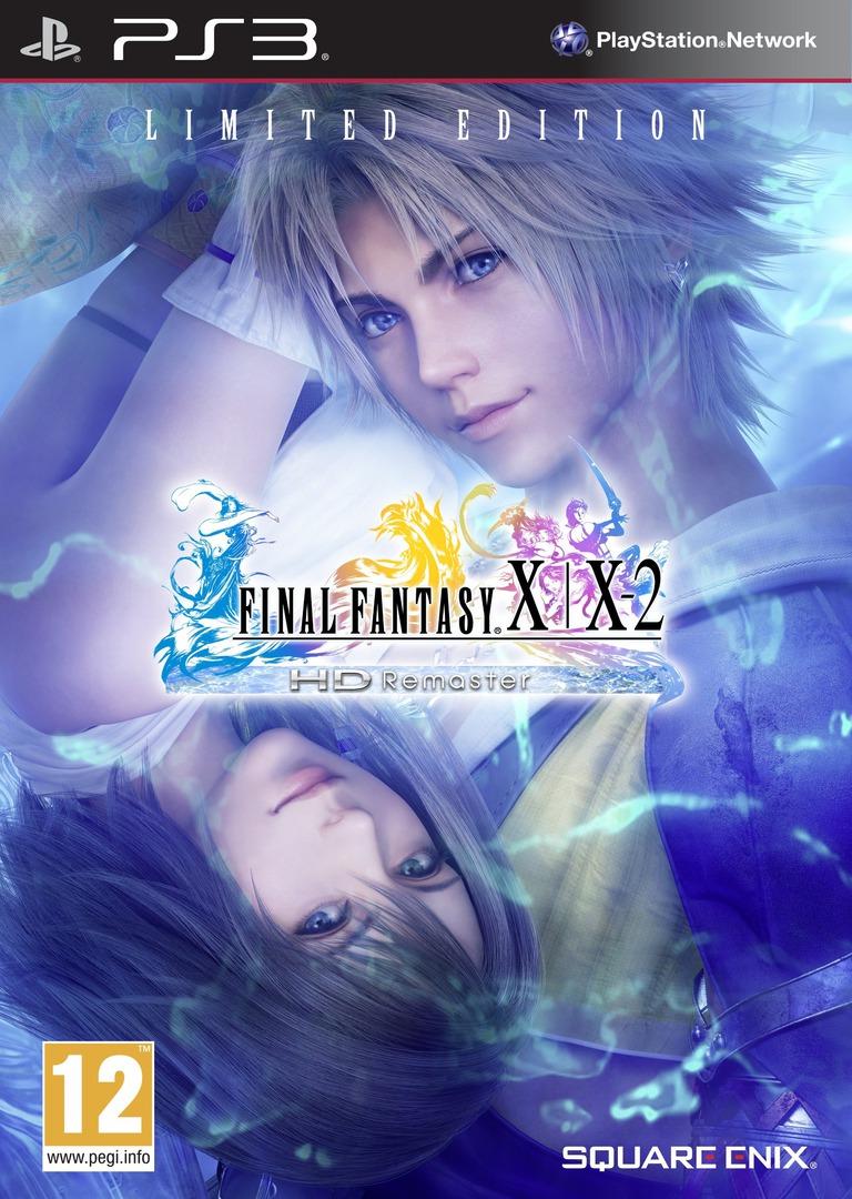 Final Fantasy X / X-2 HD Remaster PS3 coverHQB (BLES01880)