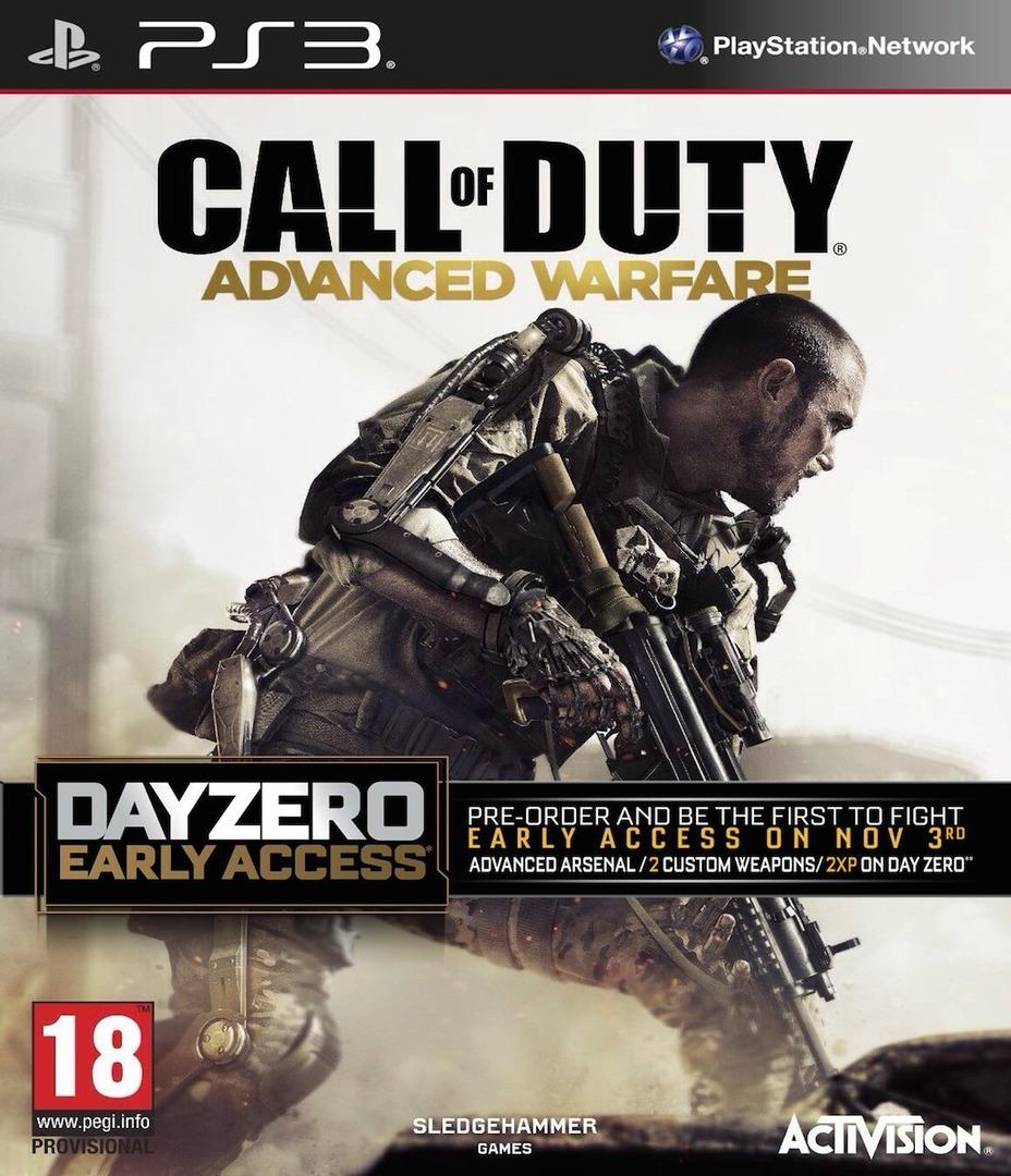 Call of Duty: Advanced Warfare PS3 coverHQB (BLES02077)