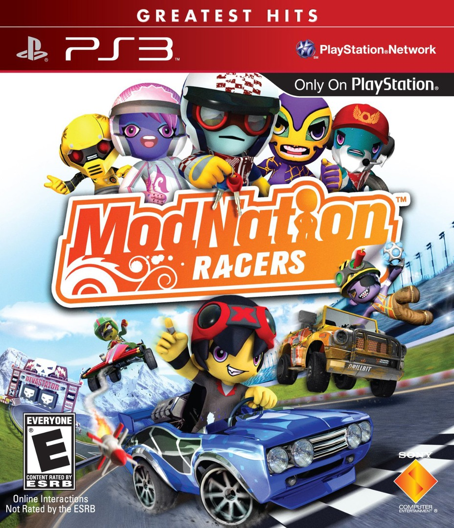 ModNation Racers PS3 coverHQB (BCUS98167)