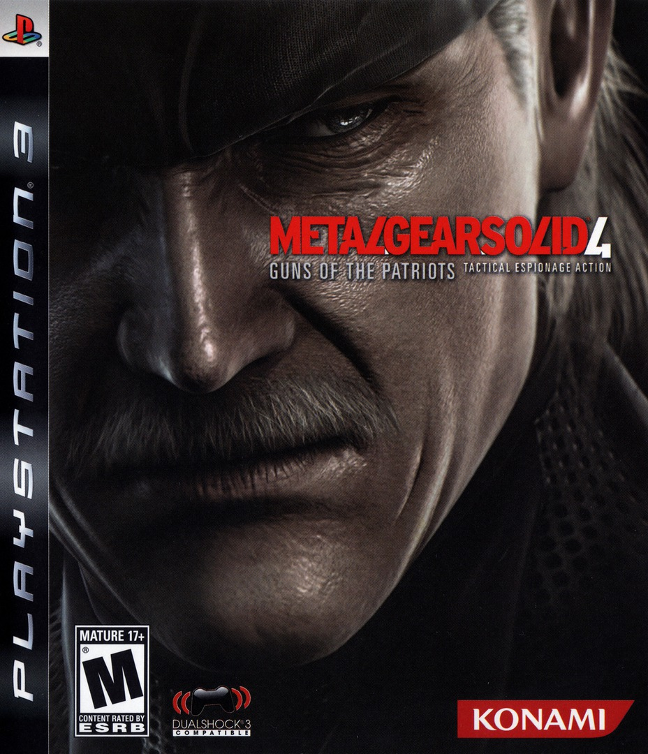 Metal Gear Solid 4: Guns of the Patriots Array coverHQB (BLUS30109)