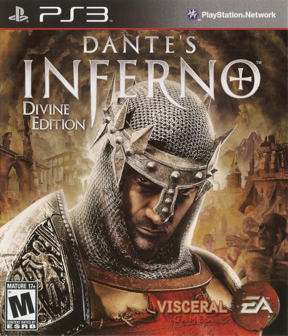 Dante's Inferno (Divine Edition) PS3 coverHQB (BLUS30405)