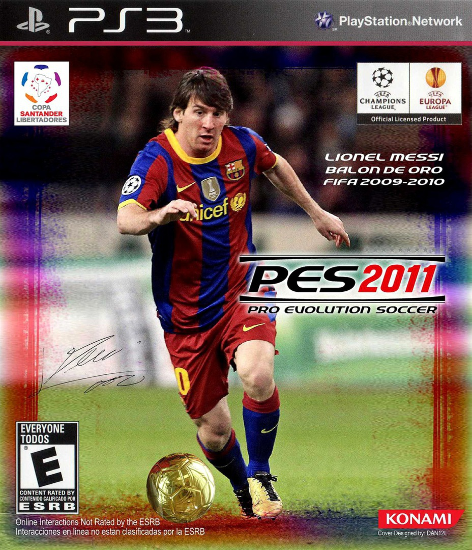 Pro Evolution Soccer 2011 PS3 coverHQB (BLUS30610)