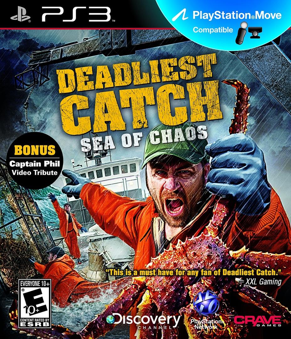 Deadliest Catch: Sea of Chaos PS3 coverHQB (BLUS30633)