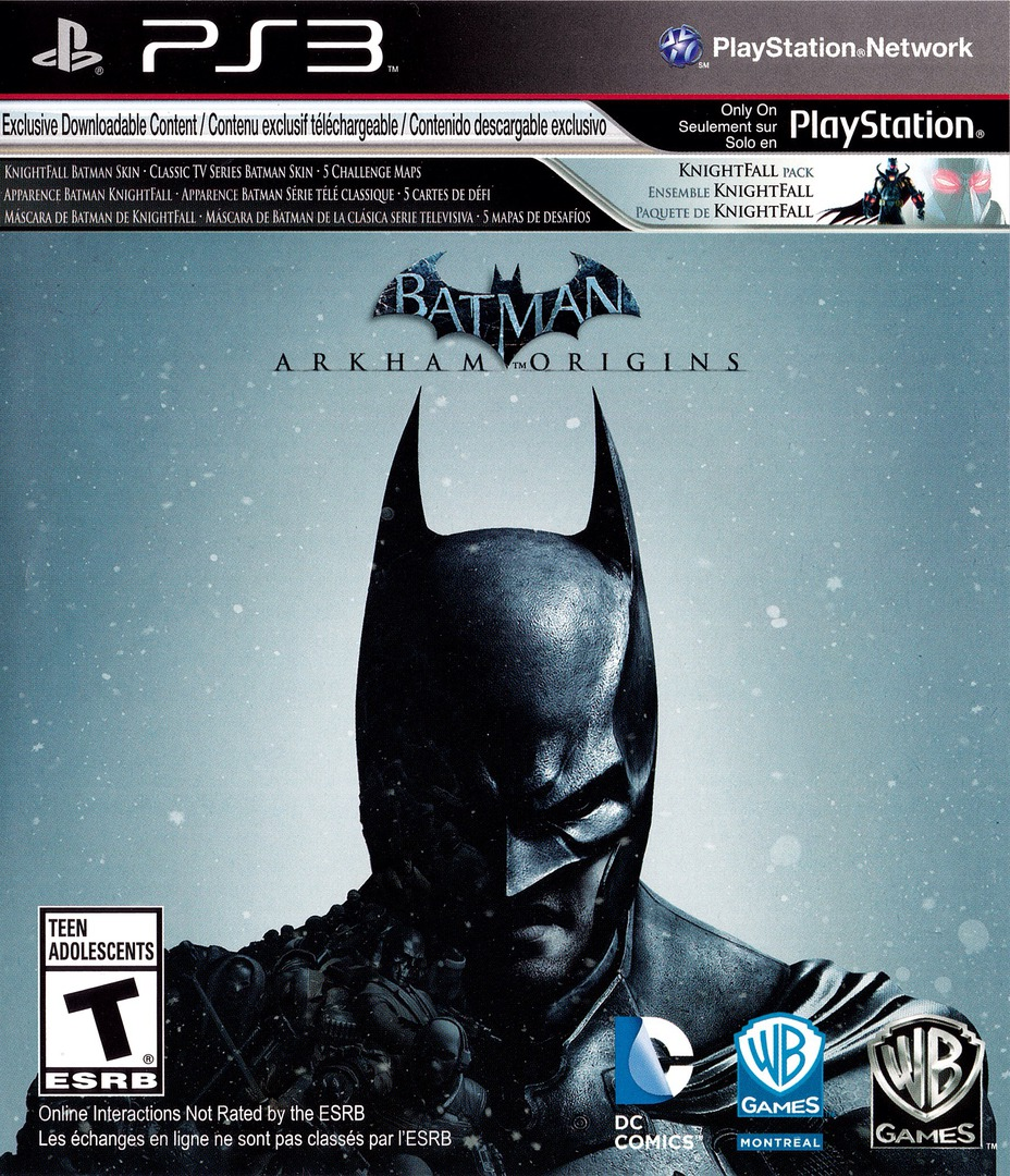Batman: Arkham Origins PS3 coverHQB (BLUS31147)