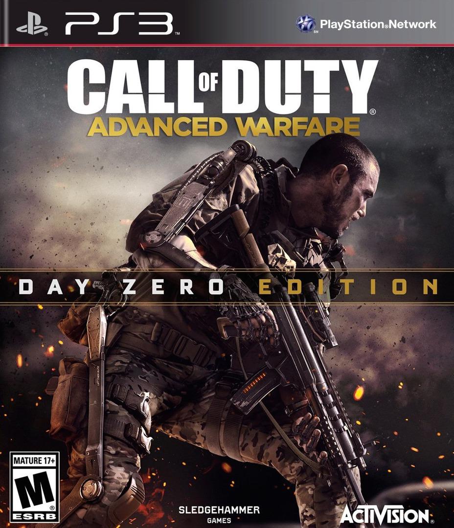 Call of Duty: Advanced Warfare PS3 coverHQB (BLUS31446)