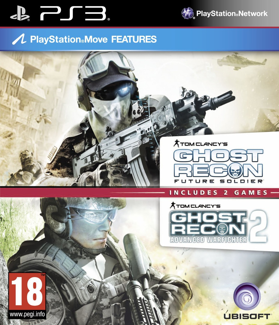 Tom Clancy's Ghost Recon: Advanced Warfighter 2 PS3 coverHQB2 (BLES00067)