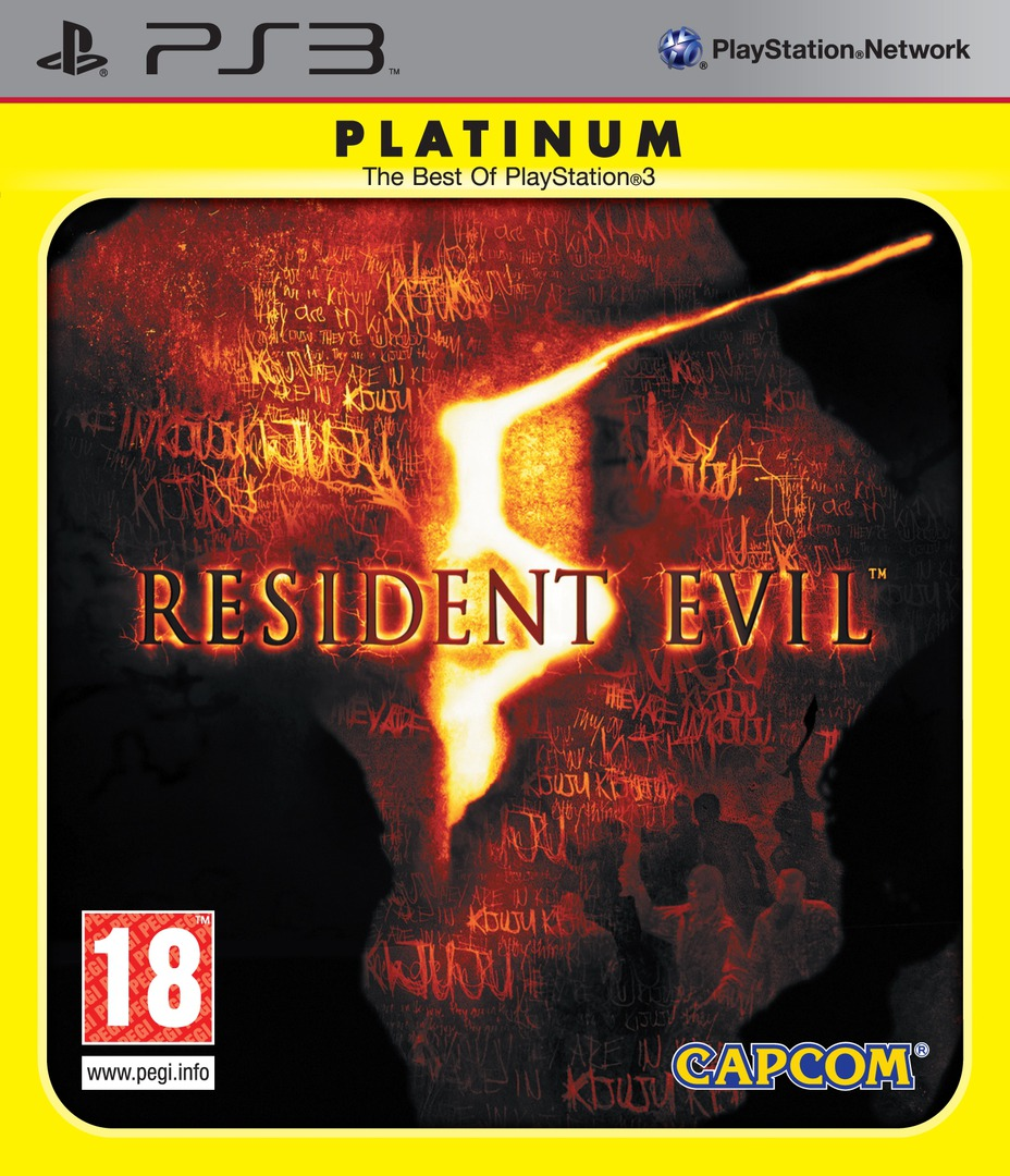 Resident Evil 5 PS3 coverHQB2 (BLES00485)