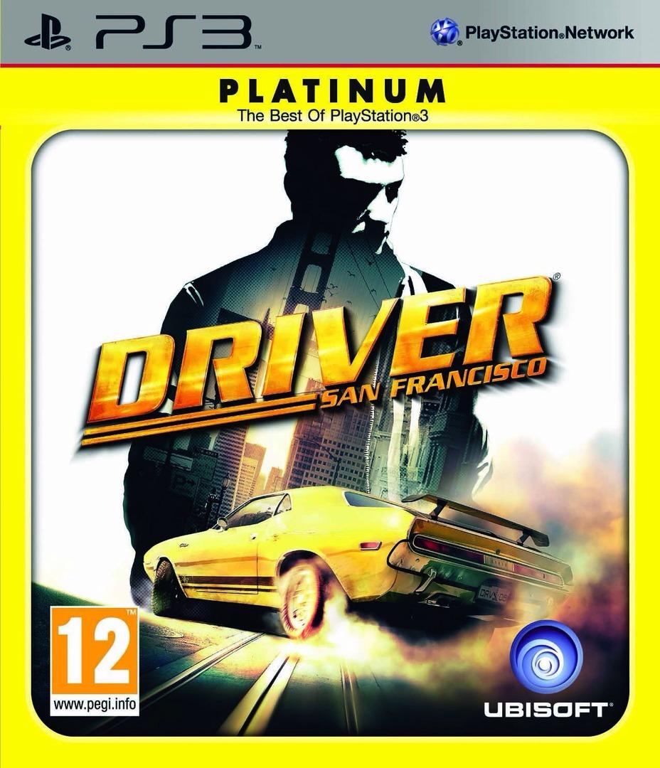 Driver: San Francisco PS3 coverHQB2 (BLES00891)