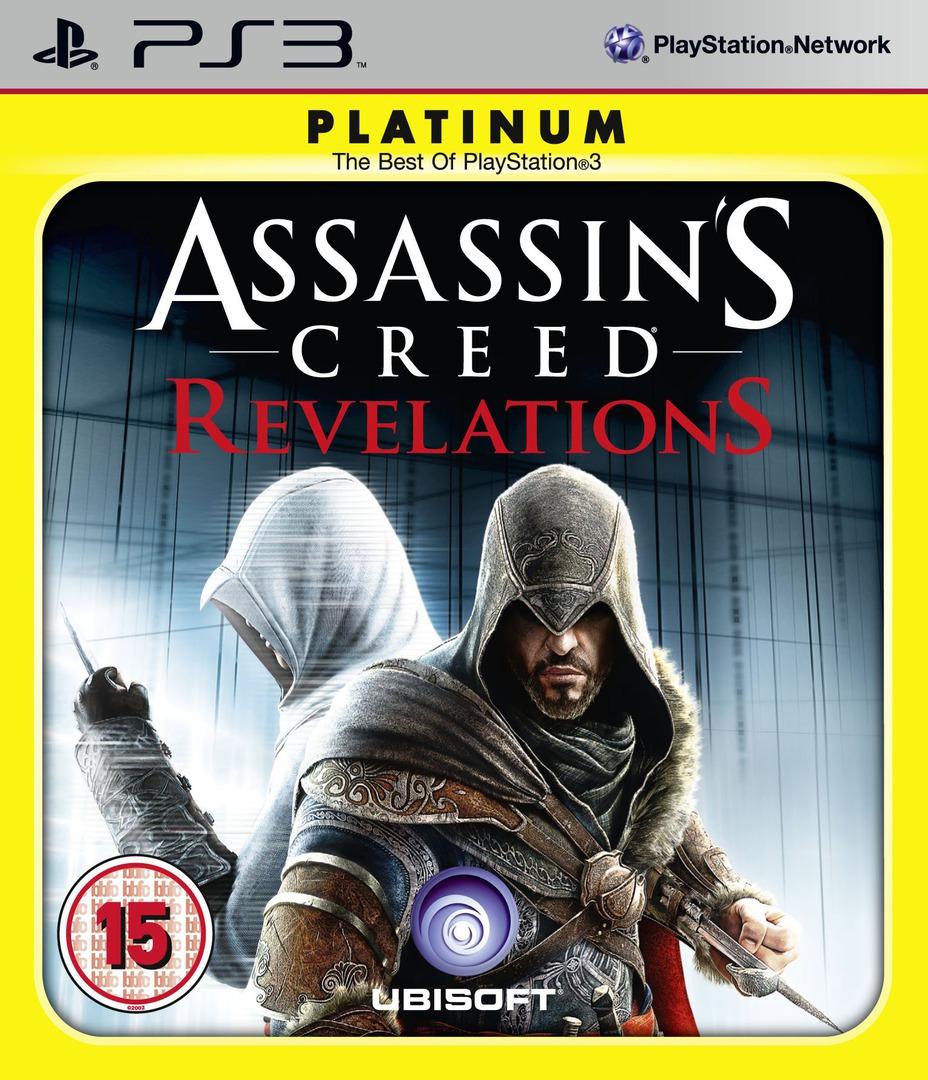 Assassin's Creed: Revelations PS3 coverHQB2 (BLES01466)