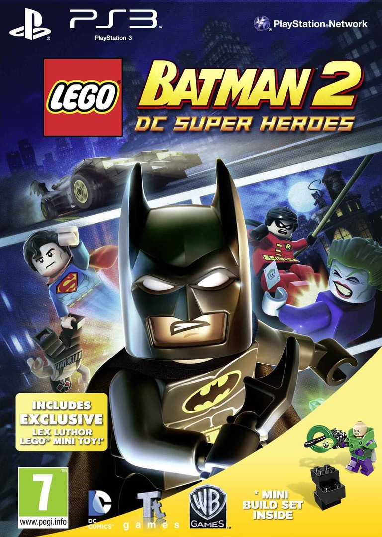 LEGO Batman 2: DC Super Heroes PS3 coverHQB2 (BLES01613)