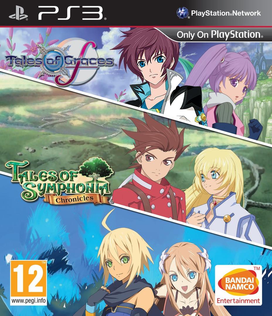 Tales of Graces F PS3 coverHQB2 (BLES01617)