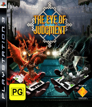 The Eye of Judgment PS3 coverM (BCES00007)