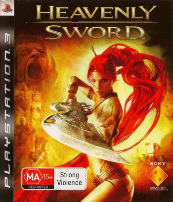 Heavenly Sword PS3 coverM (BCES00078)