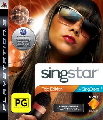 SingStar: Pop Edition Array coverM (BCES00341)