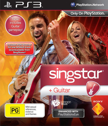 SingStar Guitar PS3 coverM (BCES00835)
