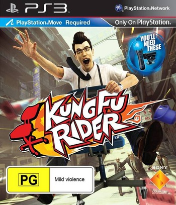 Kung Fu Rider PS3 coverM (BCES01029)