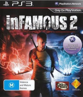 inFamous 2 PS3 coverM (BCES01143)