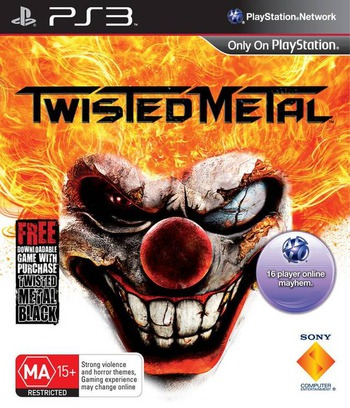 Twisted Metal PS3 coverM (BCES01400)
