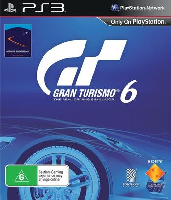 Gran Turismo 6 PS3 coverM (BCES01893)