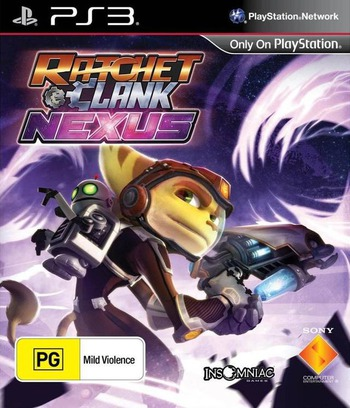 Ratchet & Clank: Into the Nexus PS3 coverM (BCES01908)