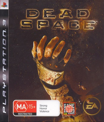 Dead Space PS3 coverM (BLES00308)
