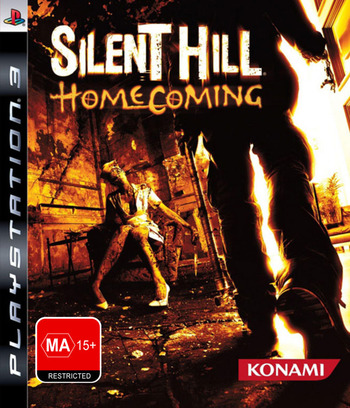 Silent Hill: Homecoming PS3 coverM (BLES00460)