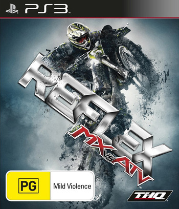 MX vs. ATV Reflex PS3 coverM (BLES00662)