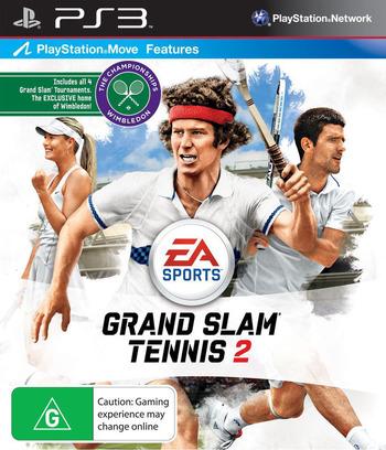 Grand Slam Tennis 2 PS3 coverM (BLES00709)