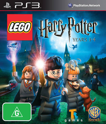 LEGO Harry Potter: Years 1-4 PS3 coverM (BLES00720)